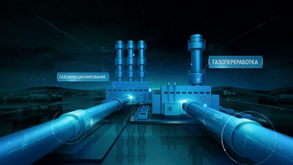 Промышленная анимация - СИБУР