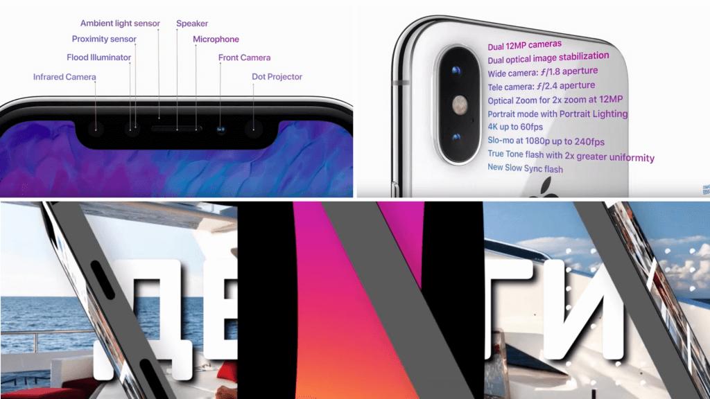 Сравнение Social Box и ролика Apple