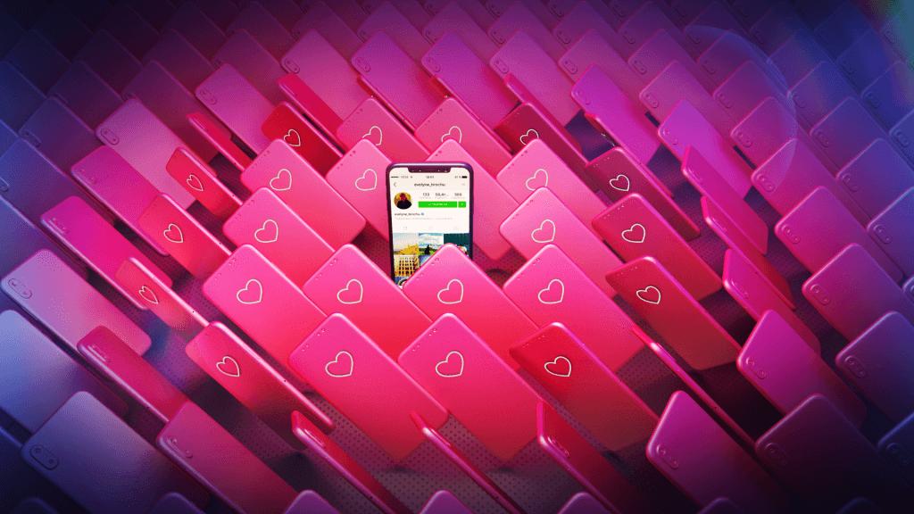 Сцена из Instagame - миллион смартфонов