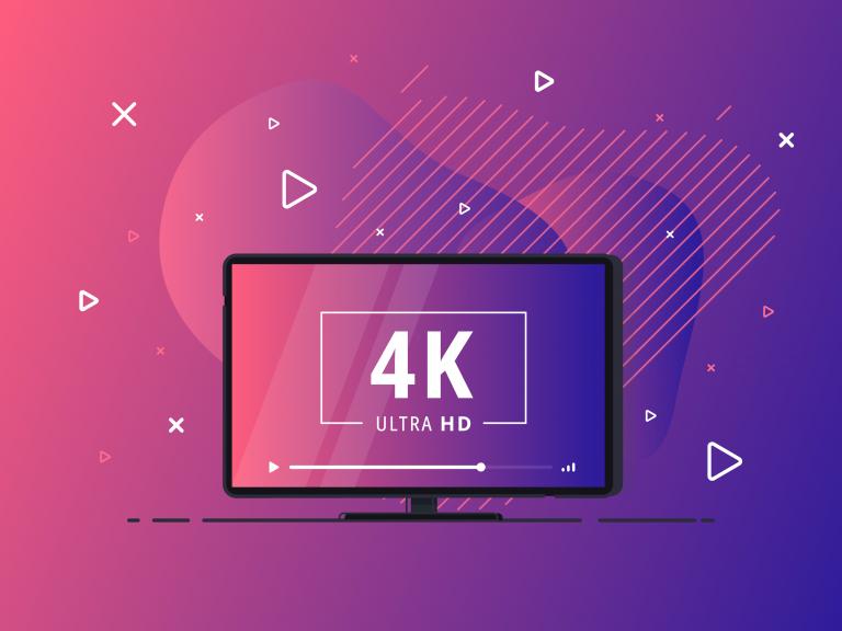 Выставочное видео в формате 4K, 8K, 16K