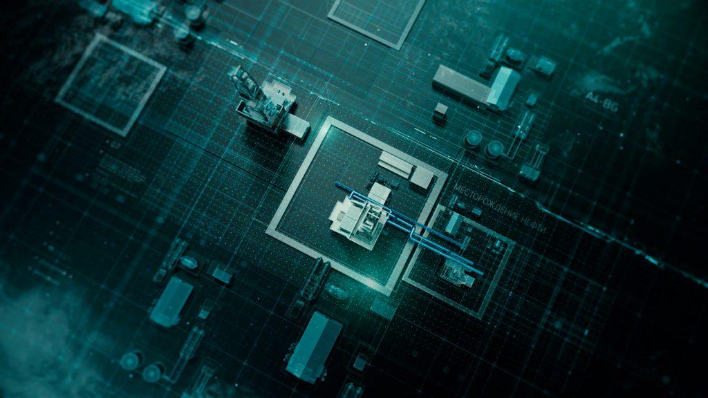 Визуализация промышленного объекта - пример