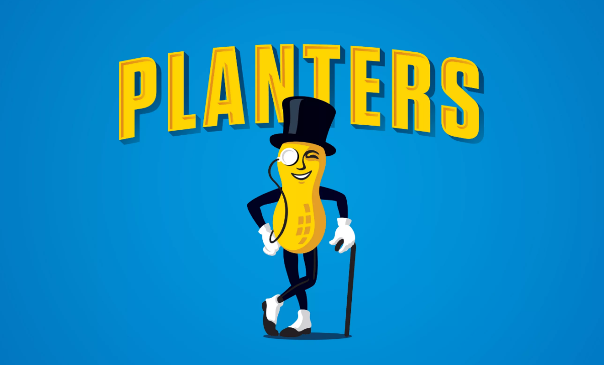 Mr.Peanut - бренд-персонаж компании Planters