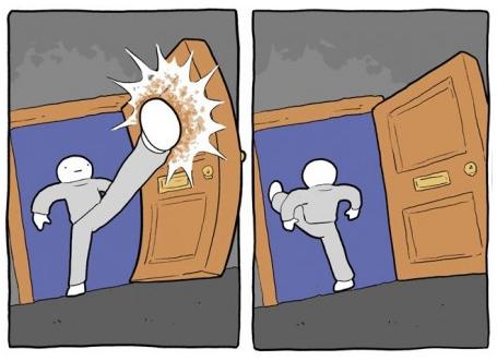 Зашел - вышел