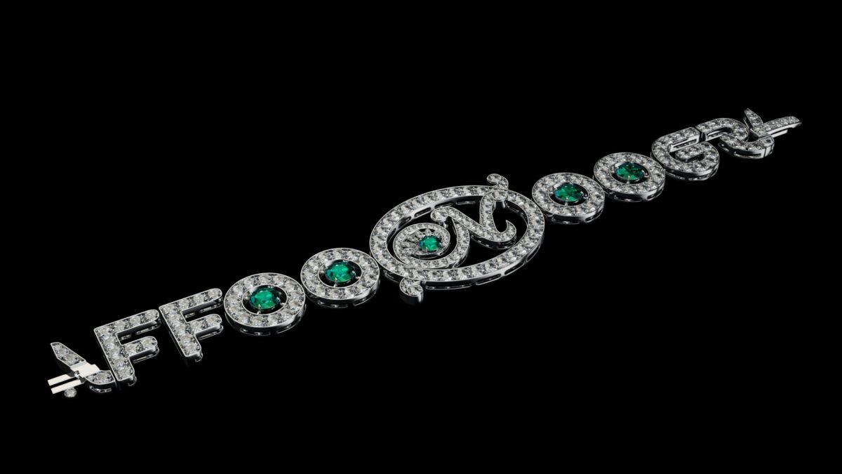3D модель подвески Графф