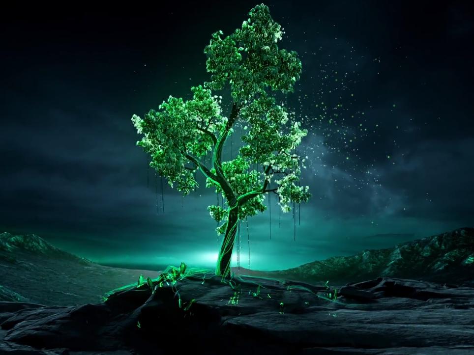 Древнее магическое дерево Tabayer