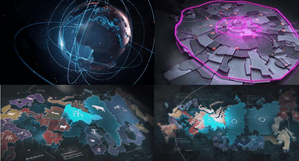 Мудборд - Карты компаний